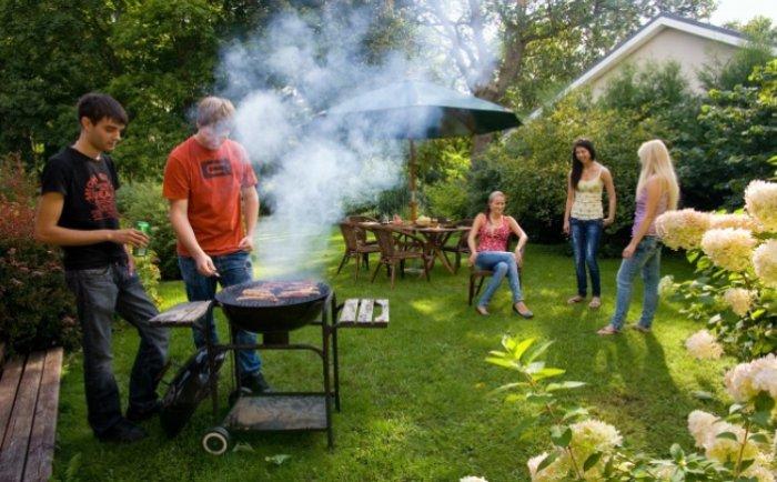 Come organizzare una grigliata in giardino - Organizzare il giardino ...