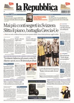 La Repubblica News Online