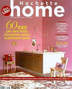 Hachette home rivista for Riviste di arredamento casa