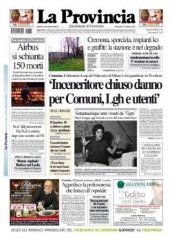 La Provincia Di Cremona Pdf